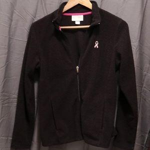 Lady Hagen Breast Cancer Women's Full Zip Fleece